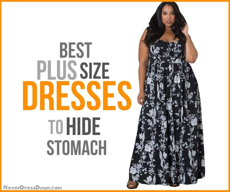 Best Plus Size Dresses to Hide Stomach
