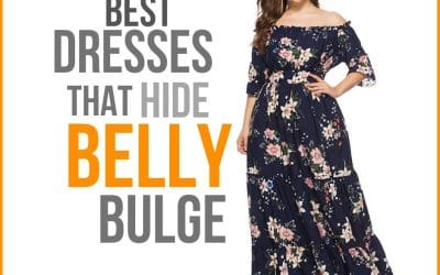 Dresses that Hide Belly Bulge and Love Handles