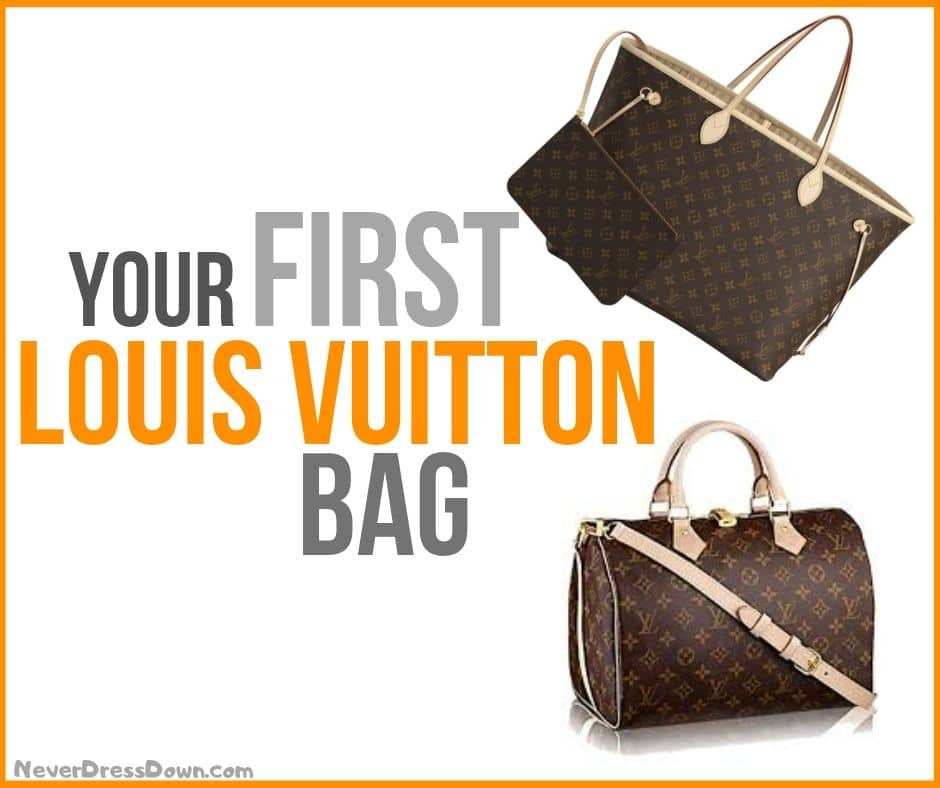 What Louis Vuitton Bag Should I Buy First