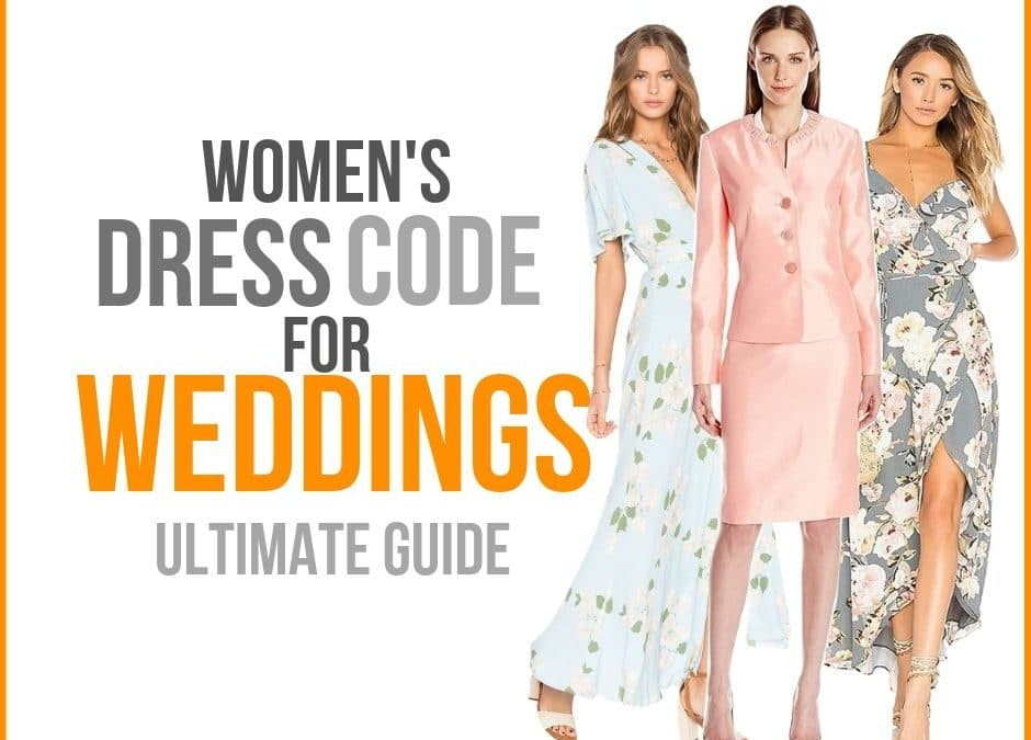 Dress Codes for Weddings